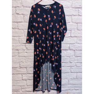 Eldridge High-Low Casual Floral Dress Size Medium